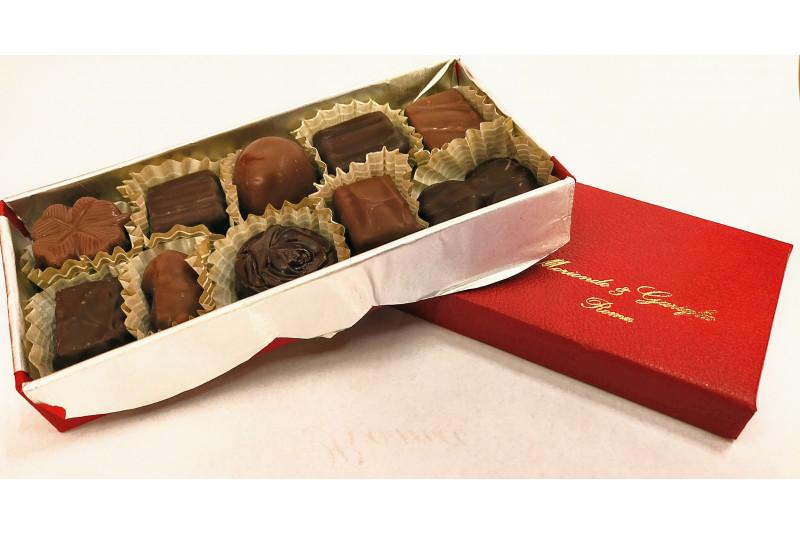 Scatola 10 cioccolatini
